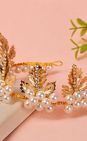 Donne Strass / Perle false Copricapo-Matrimonio / Occasioni speciali Fasce 1 pezzo
