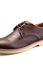 Chaussures Hommes Mariage / Bureau & Travail / Soirée & Evénement Violet / Kaki Polyuréthane Richelieu