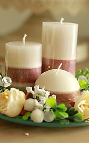Thème de papillon Favors Candle-1 Piece / Set Bougies Non personnalisé Blanc