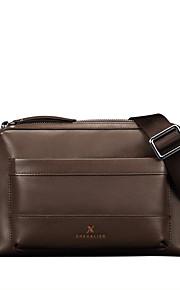 X.BNJ  Men Shouder Bags Top Grade Genuine Leather Men Business Bag Vintage First Layer Cowhide Messenger Bags Brown