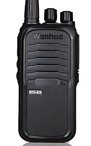 Wanhua HTD 815 Walkie-talkie 5W 16 400-470 mHz 1500mAh 1,5-3 km Stemmekommando / Advarsel om lavt batteri / CTCSS/CDCSS 无 Tovejs-radio