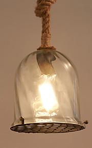Max 60W Vintage Ministil Målning Metall Hängande lamporLiving Room / Bedroom / Dining Room / Skaka pennan och tryck på spetsen innan du