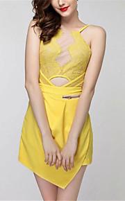 Damen Jumpsuits - Sexy Ärmellos Polyester Mikro-elastisch