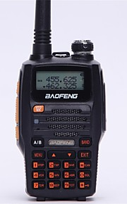BaoFeng UV-5R UP Walkie-talkie 5W 128 136-174MHz / 400-520MHz 1800mAh 1,5km-3kmFM-radio / Spraakverzoek / Dual-band / Dubbel scherm /