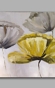 Oil Painting Modern Abstract Floral Hand Painted Canvas with Stretched Frame