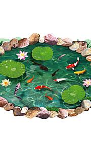 Животные / ботанический / Натюрморт / Мода / Цветы / Отдых / 3D Наклейки 3D наклейки,PVC 90*60*0.1