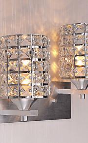 hot Modern Simplicity Crystal Wall Lights Living Room / Bedroom / Hallway light Fixture 2-lights