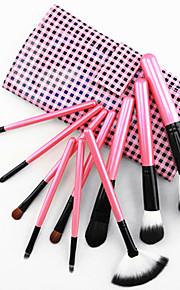 10 Brush Sets Kwast van ponyhaar / Kwast van geitenhaar / Synthetisch haar / Paard Gezicht / Lip / Oog