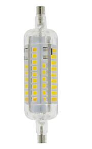 5W R7S Ampoules Maïs LED T 60 SMD 2835 800 lm Blanc Chaud / Blanc Froid Décorative / Etanches AC 100-240 V 1 pièce
