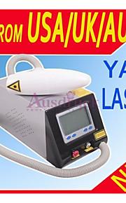 mise à jour commutateur q laser nd yag professionnel pour l'enlèvement de tatouage des sourcils pigment enlèvement de rousseur machine de