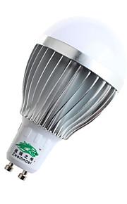 5W GU10 Ampoules Globe LED A60(A19) 10 SMD 5730 480lumens lm Blanc Chaud / Blanc Naturel Décorative AC 85-265 V 1 pièce