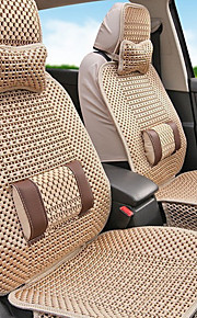 Car Seat Cover Universal Fits Seat Protector Seat Covers Knit- Beige,Gray