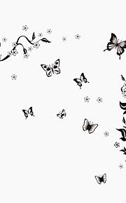 Животные / ботанический / Натюрморт / Мода / Цветы / Винтаж / Отдых Наклейки Простые наклейки,PVC 90*60*0.1