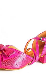 Sapatos de Dança(Azul / Prateado / Dourado / Outro) -Infantil-Não Personalizável-Latina