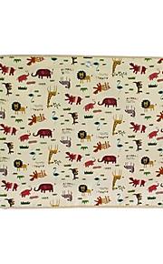 70 * 50 textiel auto gordijnen zon beschermer tweelaags-lion