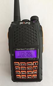 Baofeng UV-6 PLUS Walkie-talkie 7W 128 136-174 mHz / 400-520MHz 1800mAh 1,5-3 kmFM-radio / Stemmekommando / Dual-band / Dual display /