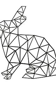 Animales / Caricatura / Formas / Ocio Pegatinas de pared Calcomanías de Aviones para Pared,PVC M:45*42cm/L:56*60cm
