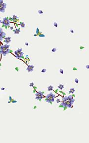 Животные / ботанический / Натюрморт / Мода / Цветы / Отдых Наклейки Простые наклейки,PVC 90*60*0.1
