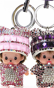 Kiki Keychain Car Hanging Bag Leather Rope Fashion Car Key Accessories