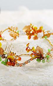 Women's Rhinestone / Brass / Imitation Pearl Headpiece-Wedding / Special Occasion Tiaras / Headbands 1 Piece