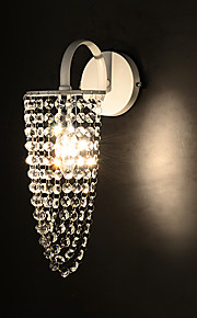 Crystal Wall Sconces,Modern/Contemporary E14 Metal