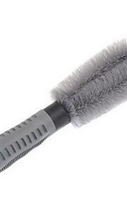 neumático de automóvil cepillo de limpieza especial sola rueda cepillo cubo antideslizante anticongelante herramienta de lavado de coches