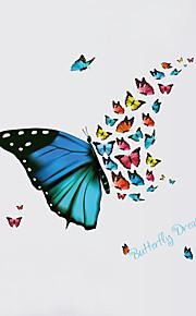 Dieren Wall Stickers Vliegtuig Muurstickers Decoratieve Muurstickers,PVC Materiaal Wasbaar / Verwijderbaar / Verstelbaar Huisdecoratie
