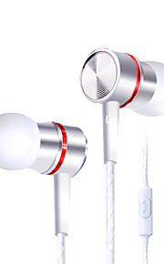 telefon headset wire metal bas med hvede til Samsung / Huawei / hirse / mp3 apple computer universal dt-210
