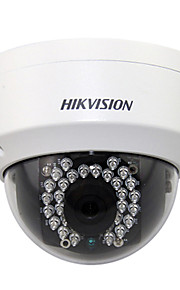 hikvision® wifi mini dome kamera ds-2cd3132f-IWS med lyd / alarm / SD-kort slot / nattesyn