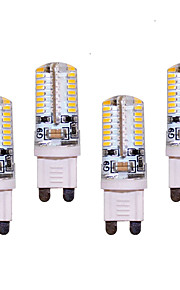 7W G9 LED à Double Broches T 64 SMD 3014 550 lm Blanc Chaud / Blanc Froid Décorative AC 100-240 V 4 pièces