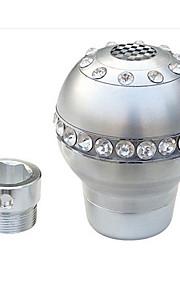 automobilistico fornisce accessori interni in metallo con ingranaggi Diamante Gear bastone pomelli cambio