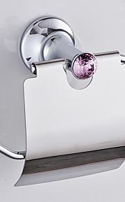 Держатель для туалетной бумаги / Хром / Крепление на стену /20*10*20 /Сплав цинка /Современный /20 10 0.42