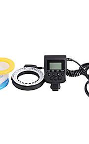 rf-550d macro geleid ringflitser voor Canon, Nikon, Olympus, Panasonic, Pentax dslr