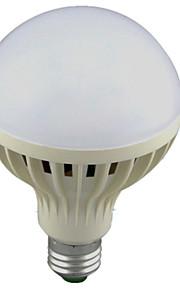 12W E26/E27 Ampoules LED Intelligentes A60(A19) 24 SMD 2835 1100lm lm Blanc Froid Capteur / Audio-activé AC 100-240 V 1 pièce