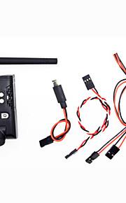 Cámara / Transmisor / controlador remoto SKYSIGHT HD01 Drones RC cuadricóptero / aviones no tripulados / RC Aviones 5V Negro pet