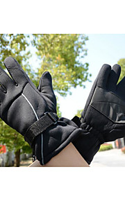 2015 guanti di guida invernale, mountain bike, impermeabile e isolamento termico pu stick slip