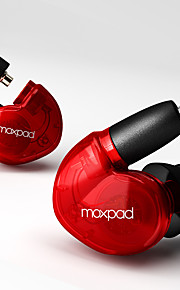 Moxpad X6 Øreplugg-hodetelefoner (i ørekanalen)ForMedie Player/Tablet / Mobiltelefon / ComputerWithMed mikrofon / DJ / Lydstyrke Kontroll