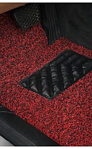 rød sort silke spray mat gratis cut tæppe måtter spinning tre stykke 52-1a \ 1192