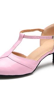 Для женщин-Лакированная кожа-Персонализируемая(Розовый) -Латина / Модерн
