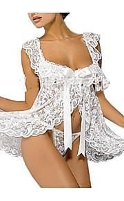 Women Ultra Sexy Nightwear,Lace / Mesh / Polyester