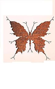 Животные Наклейки Простые наклейки Декоративные наклейки на стены / Фото наклейки,PVC материал Влажная чистка / Съемная Украшение дома