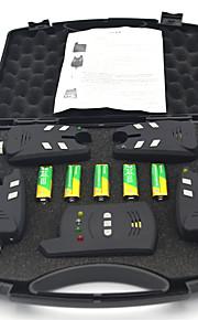 Европа 150m беспроводной карп сигнализации рыбалка укус набор 4 укус сигнализация + 1 приемник для ловли карпа (включая батарею)