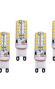 5W G9 LED à Double Broches T 48 SMD 2835 400 lm Blanc Chaud / Blanc Froid Décorative AC 100-240 V 4 pièces