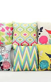 """Cotton/Linen Pillow Case 17"""" by 17"""""""