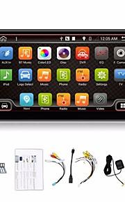4 core 2 baccano 7 '' Android 4.4 lettori DVD dell'automobile di navi dei gps radio stereo auto Dash 3G wifi BT USB / SD giocatore