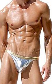 Men Bikini Briefs Underwears Mens Sexy Rubber Briefs Undies Gay Man Underpants Male underclothes