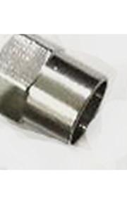 de acero inoxidable tapón de la boquilla de la válvula del neumático del automóvil