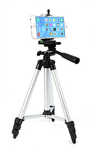 106cm letvægts digitalt kamera telefon stativ hoved selvnivellerende aluminium stativ