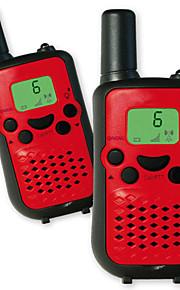 T899B1 Walkie-talkie 0.5W 8 Channels 400-470MHz AAA alkaline battery 3km-5km VOX / LCD-scherm / Monitor / Scan N/A Portofoon
