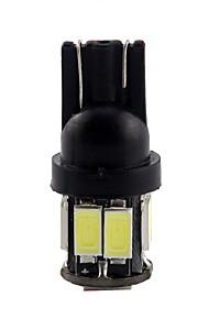 10st t10 4012 10smd auto gloeilamp lamp decoratieve lamp / leeslamp / kentekenplaatverlichting / deur lamp wit DC12V